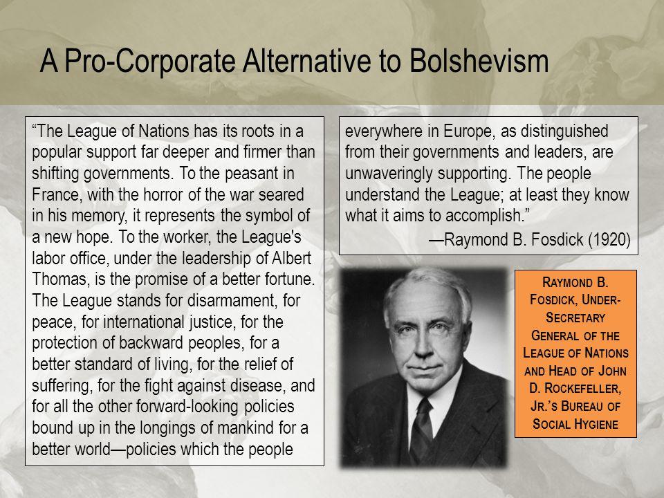 A Pro-Corporate Alternative to Bolshevism