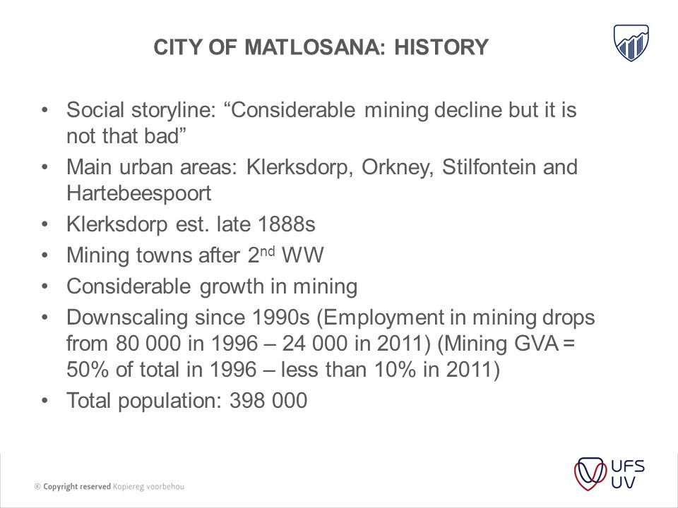 City of Matlosana: History