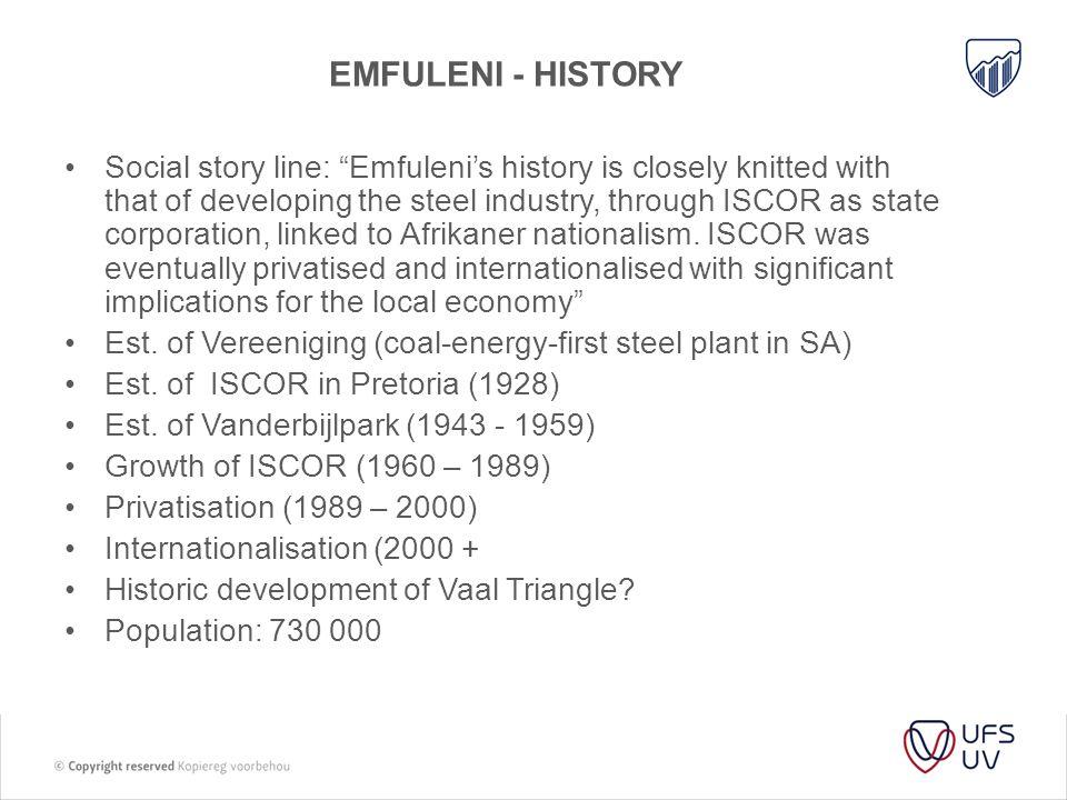 Emfuleni - history