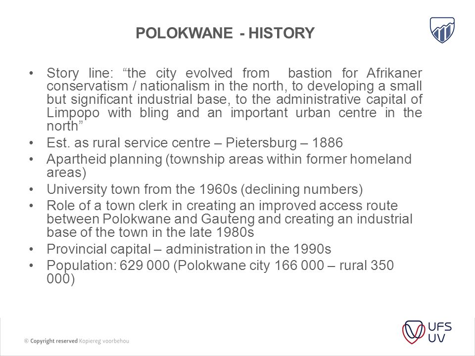 Polokwane - history