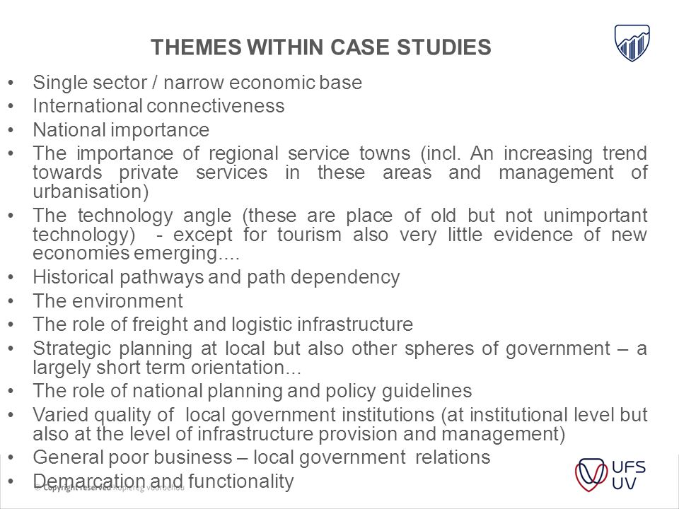 Themes within case studies