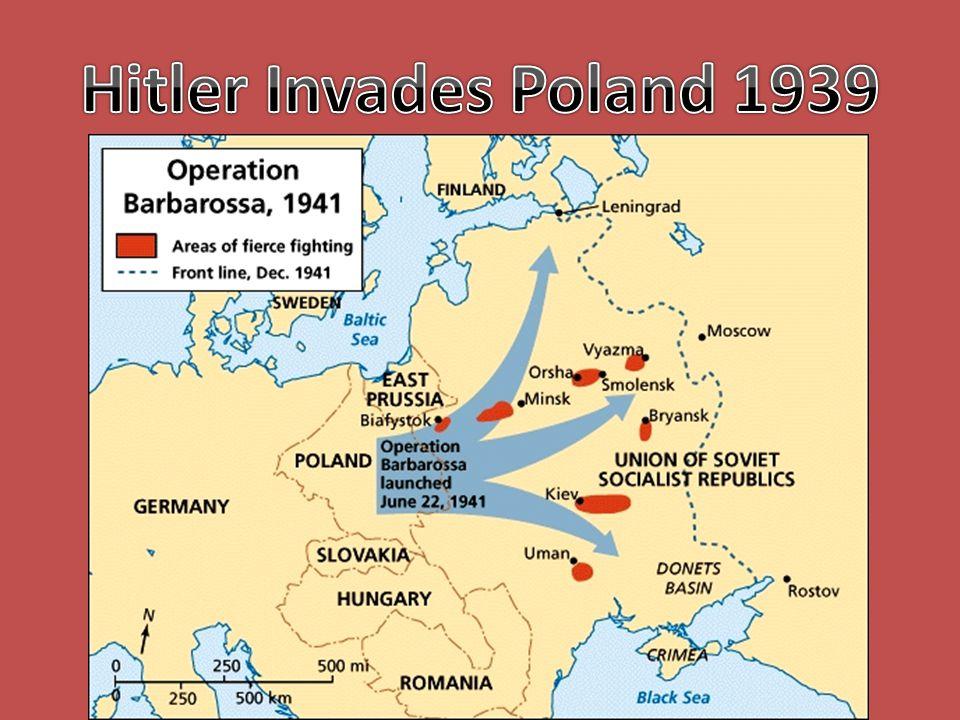 Hitler Invades Poland 1939
