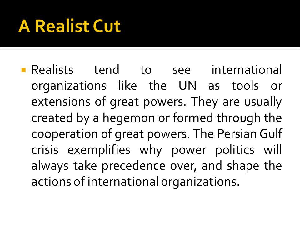 A Realist Cut