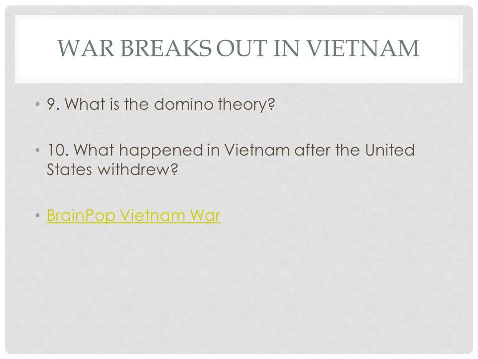War Breaks Out in Vietnam