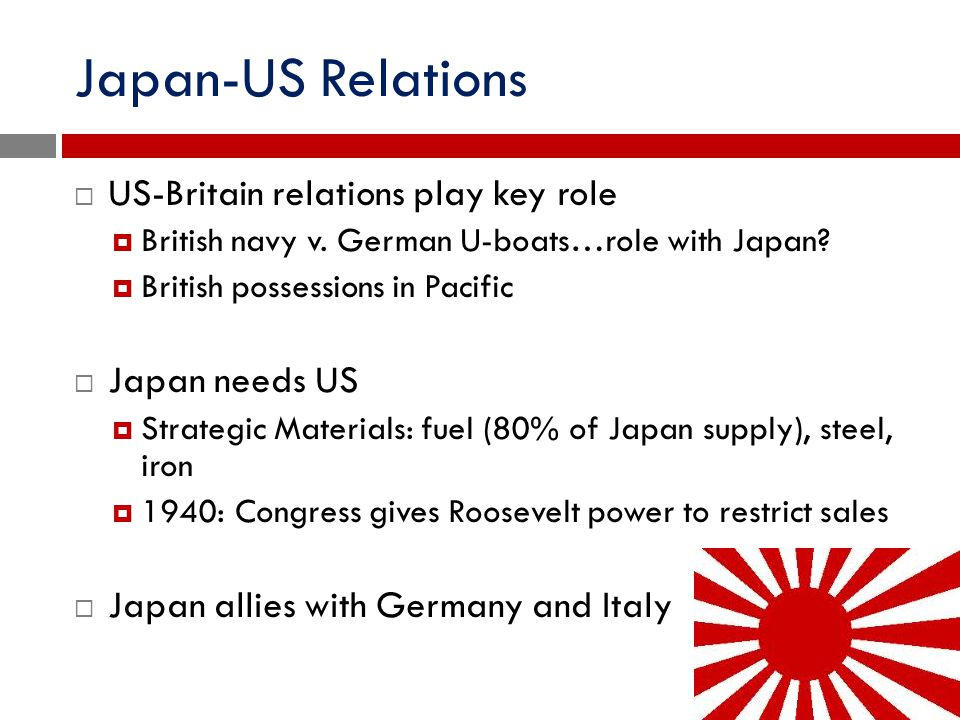 Japan-US Relations US-Britain relations play key role Japan needs US