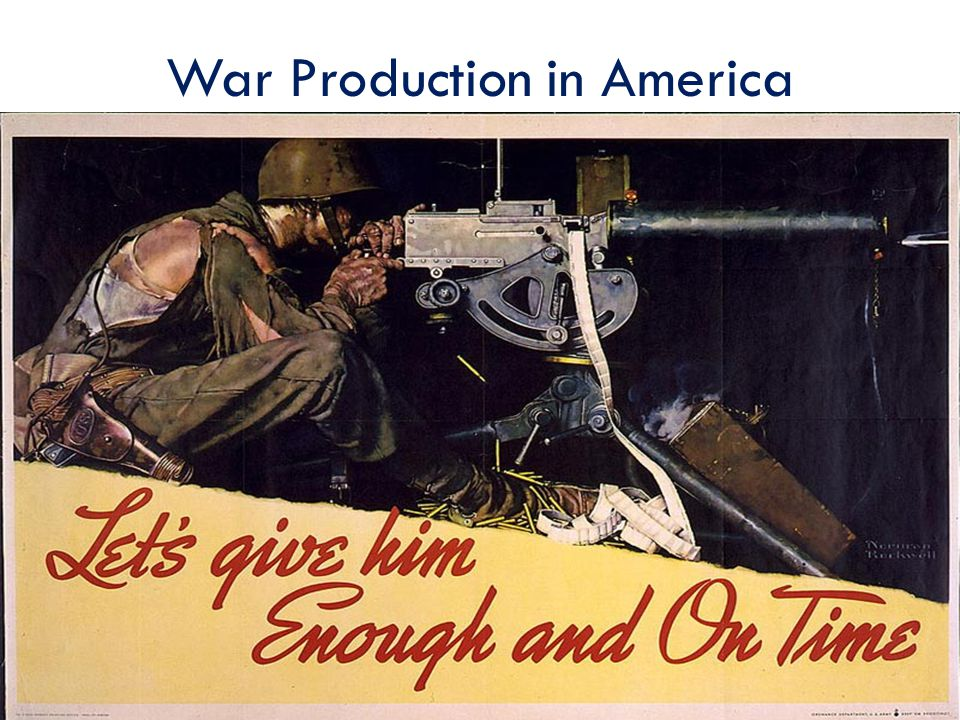 War Production in America