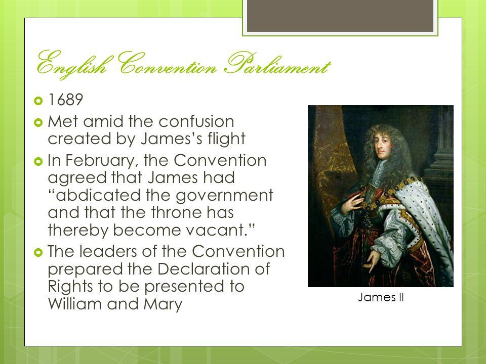 English Convention Parliament