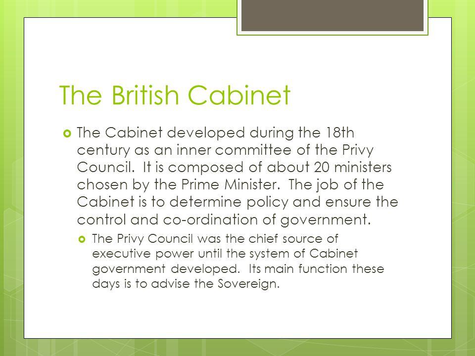 The British Cabinet