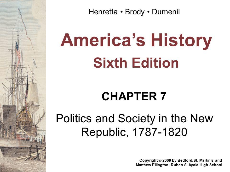 America's History Sixth Edition