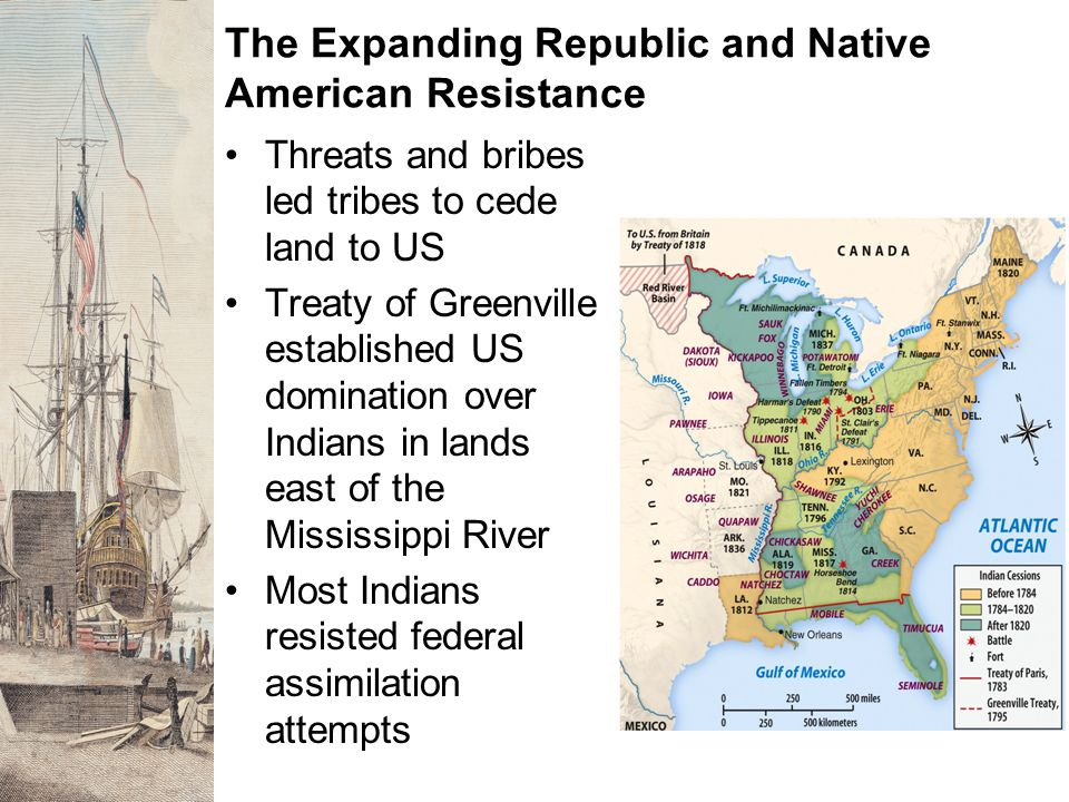 The Expanding Republic and Native American Resistance