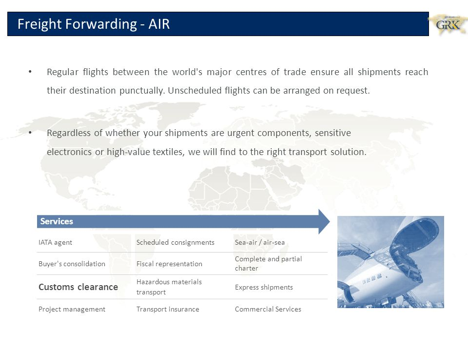Freight Forwarding - AIR