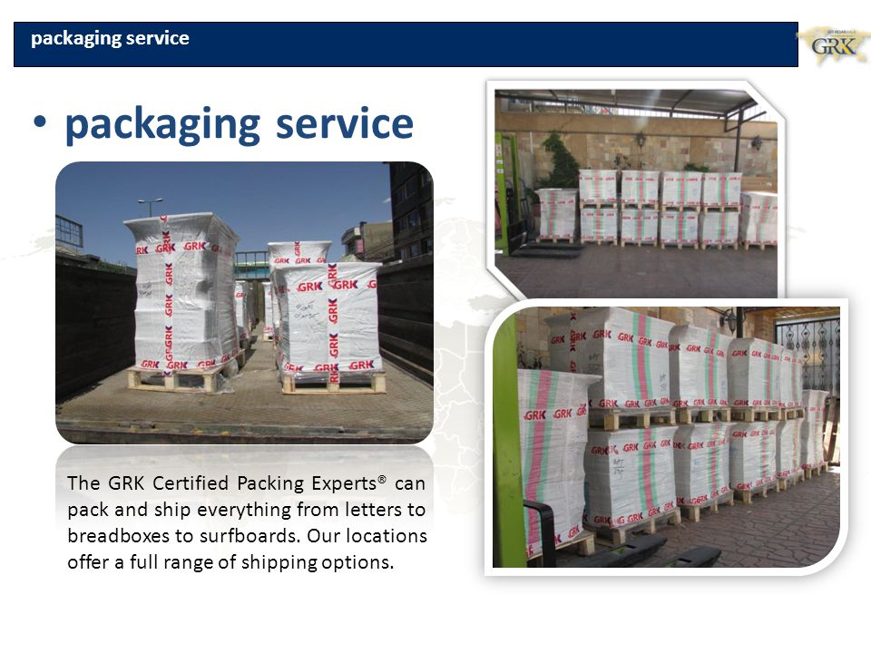 packaging service packaging service
