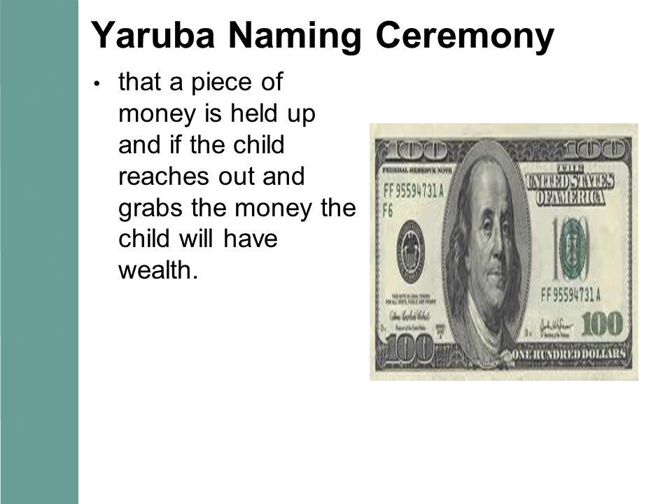 Yaruba Naming Ceremony