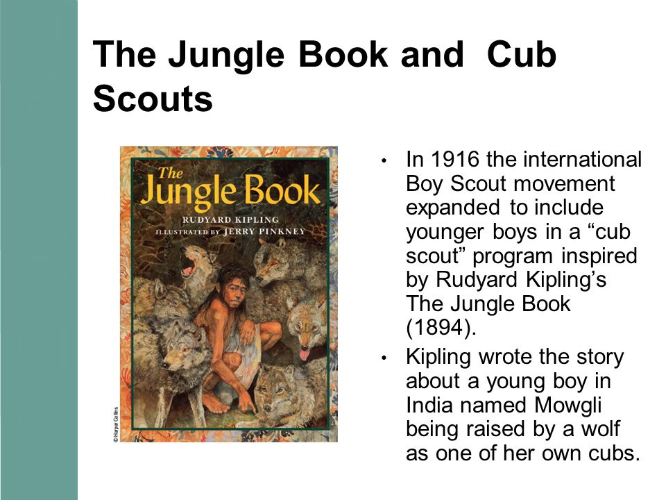 The Jungle Book and Cub Scouts