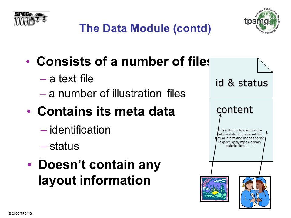 The Data Module (contd)