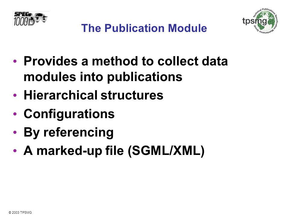 The Publication Module