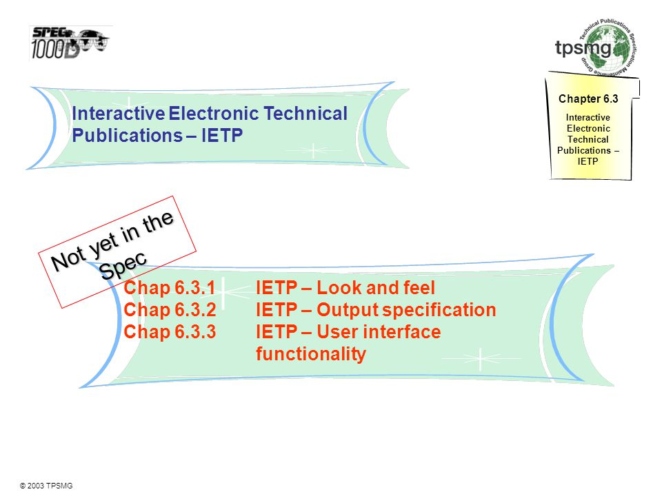 Interactive Electronic Technical Publications – IETP