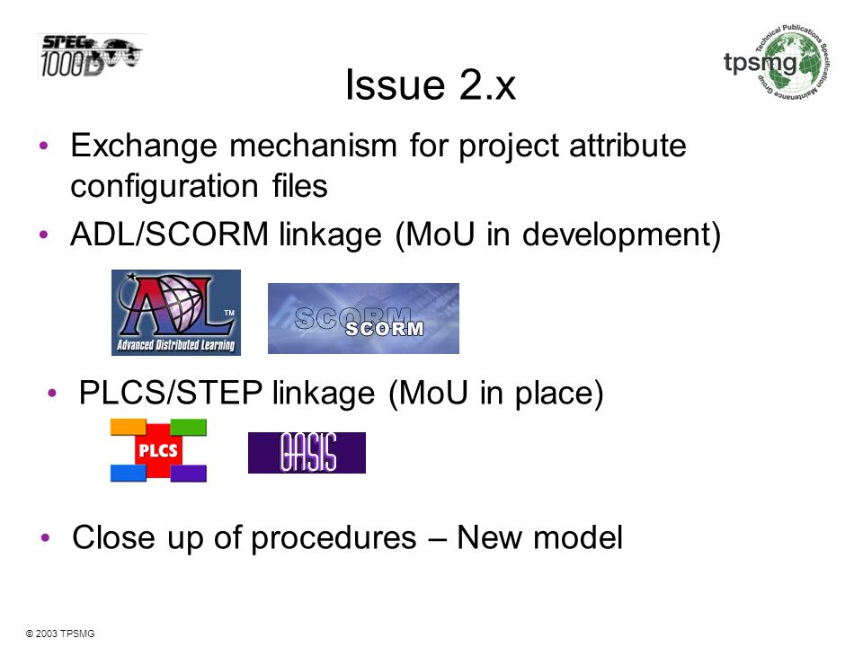 Issue 2.x Exchange mechanism for project attribute configuration files