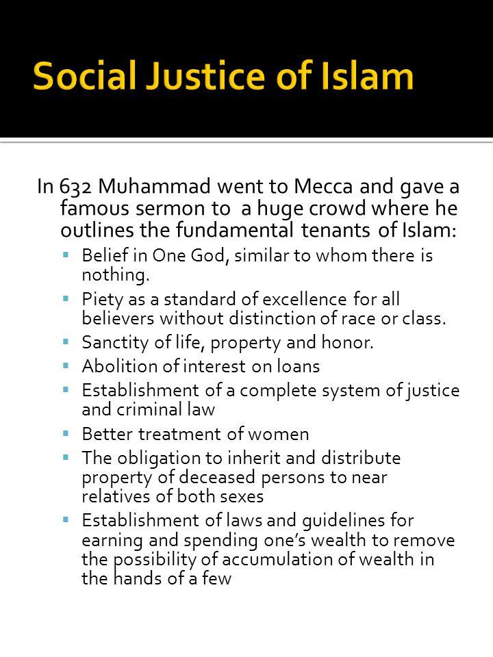 Social Justice of Islam