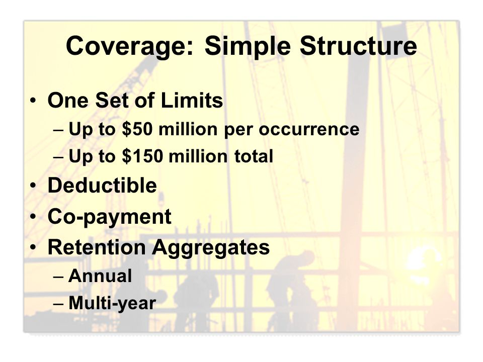 Coverage: Simple Structure