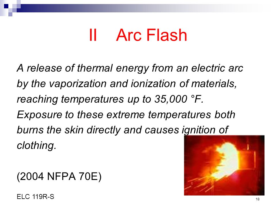 II Arc Flash