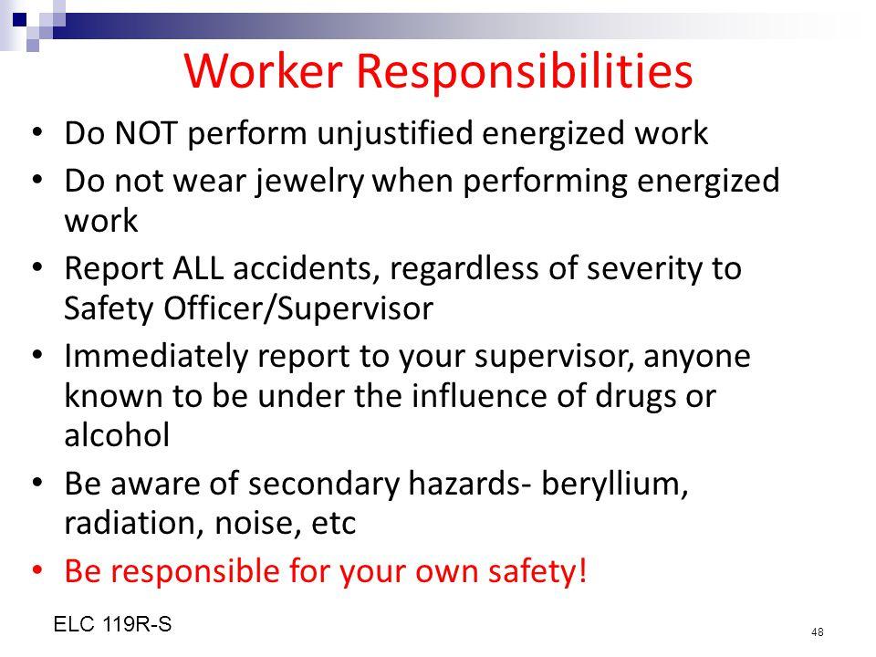 Worker Responsibilities