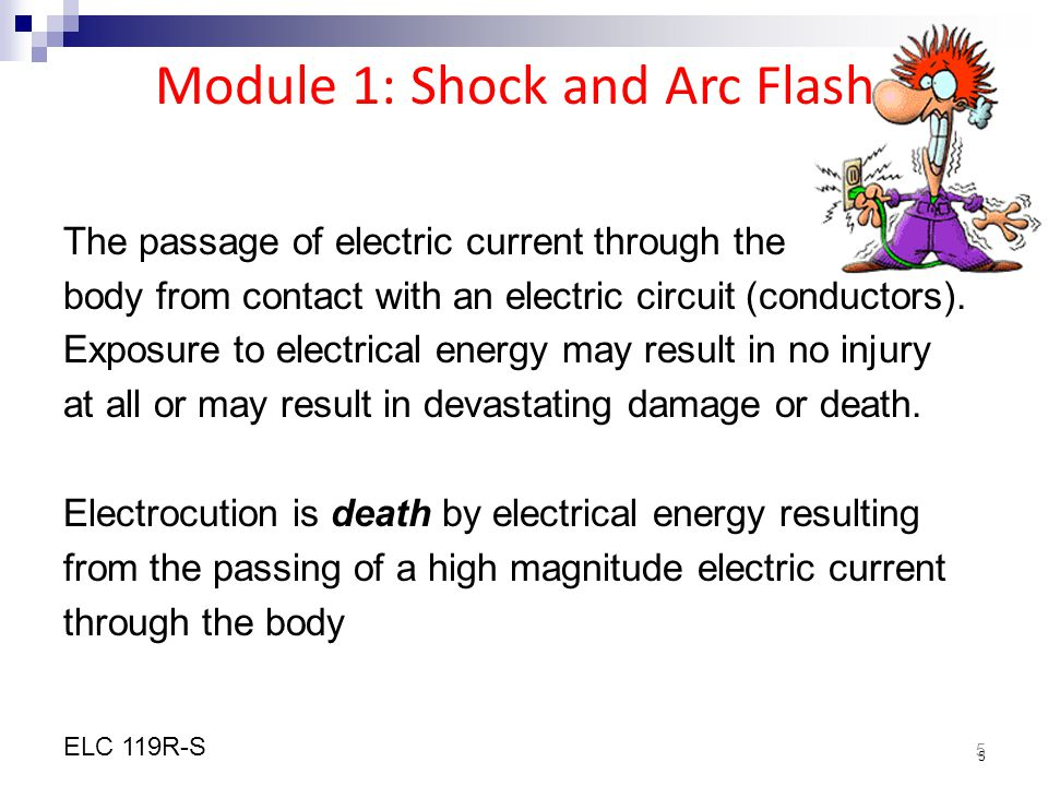 Module 1: Shock and Arc Flash