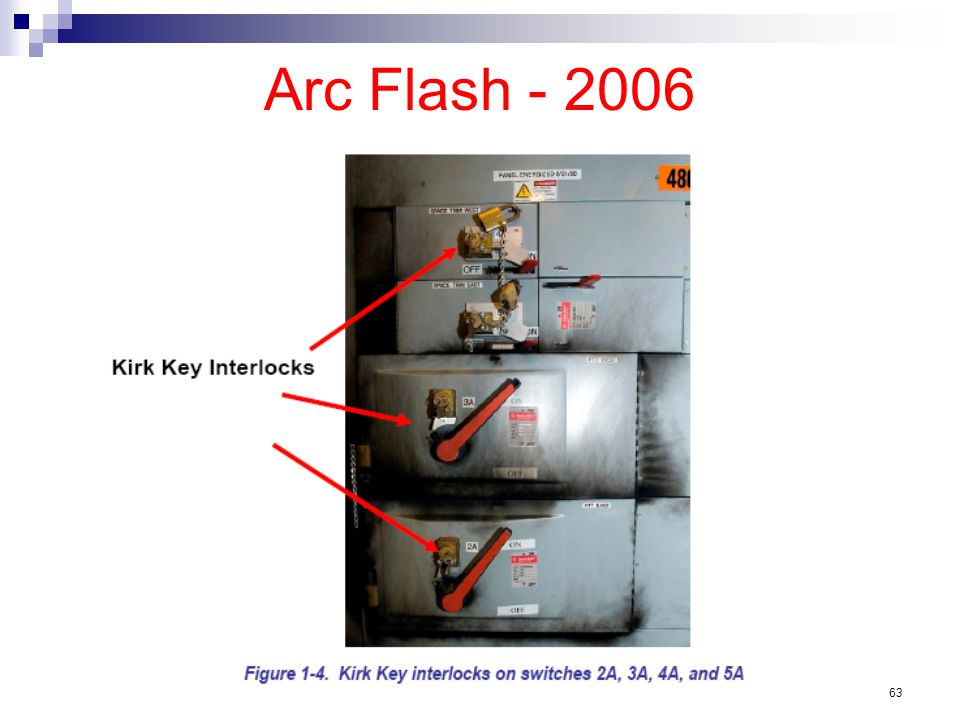 Arc Flash - 2006