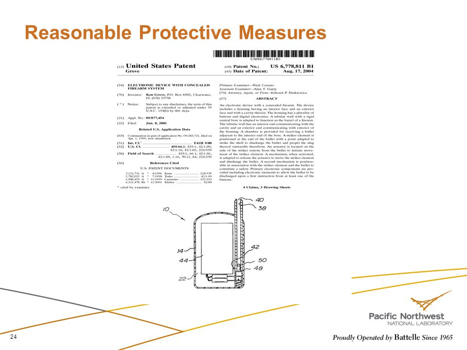 Reasonable Protective Measures