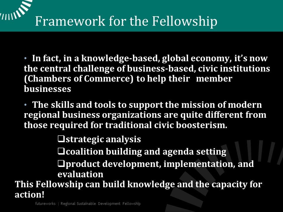 Framework for the Fellowship