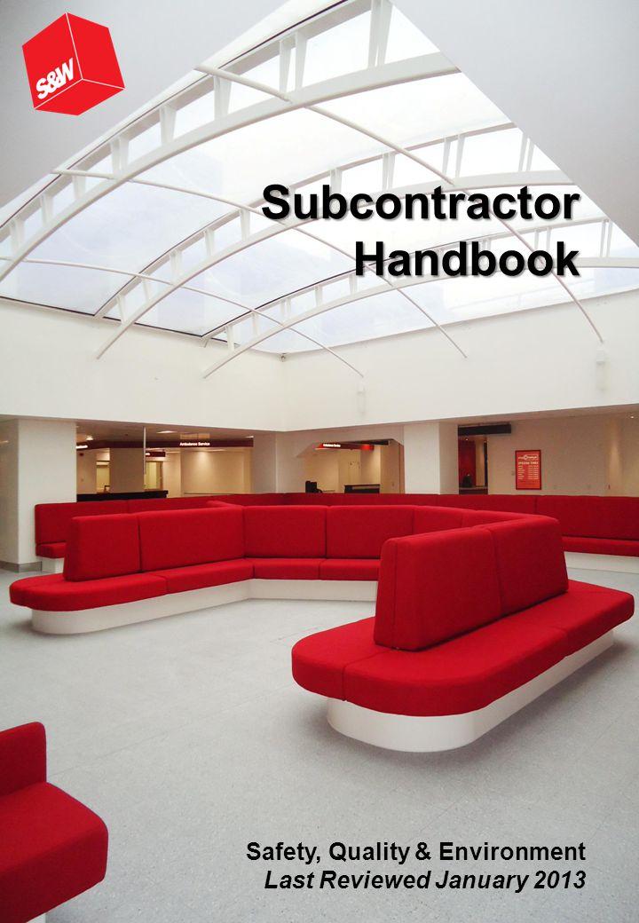Subcontractor Handbook