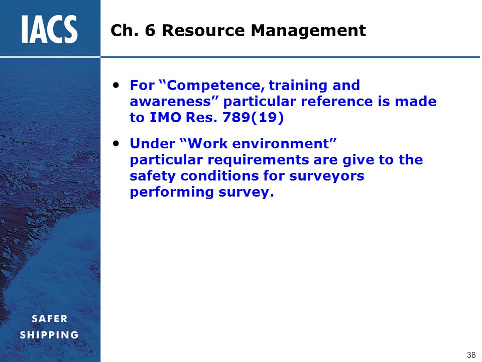 Ch. 6 Resource Management