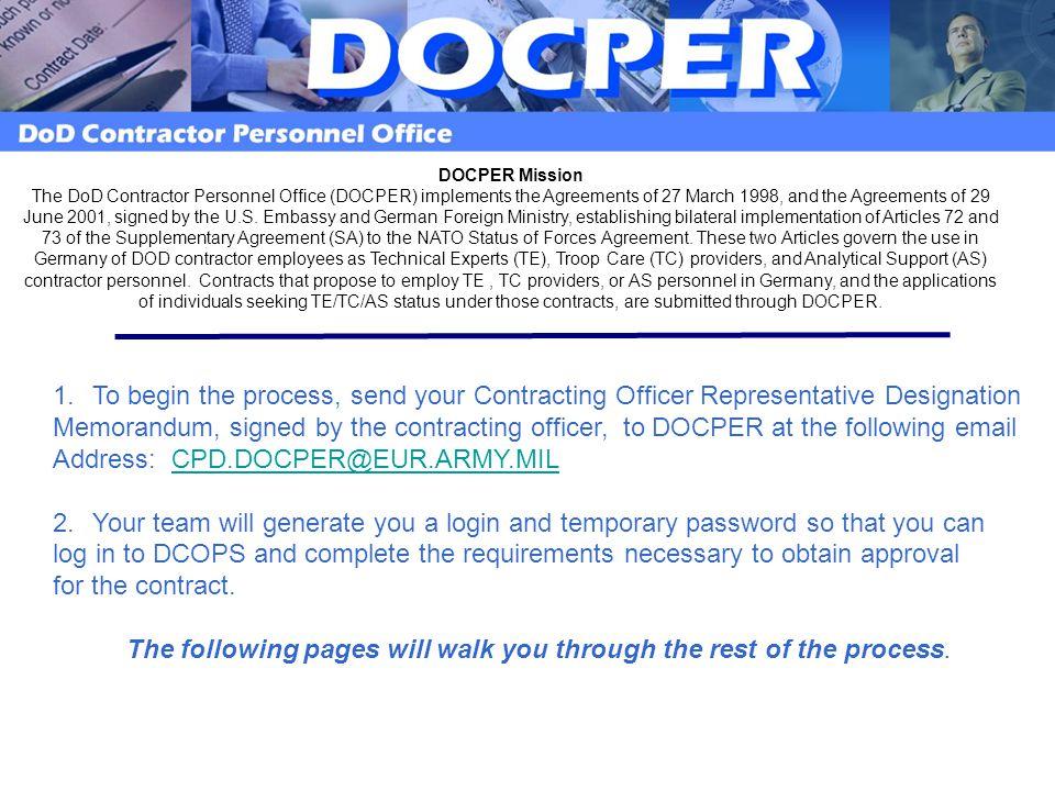 Address: CPD.DOCPER@EUR.ARMY.MIL