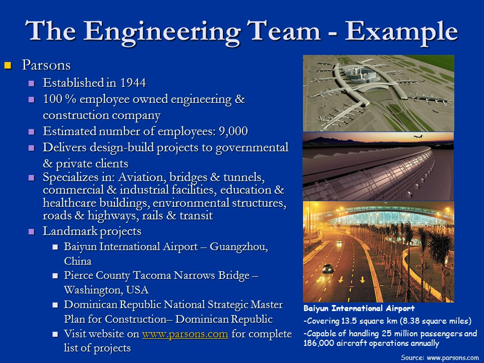 The Engineering Team - Example