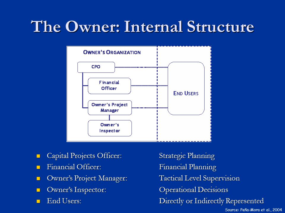 The Owner: Internal Structure