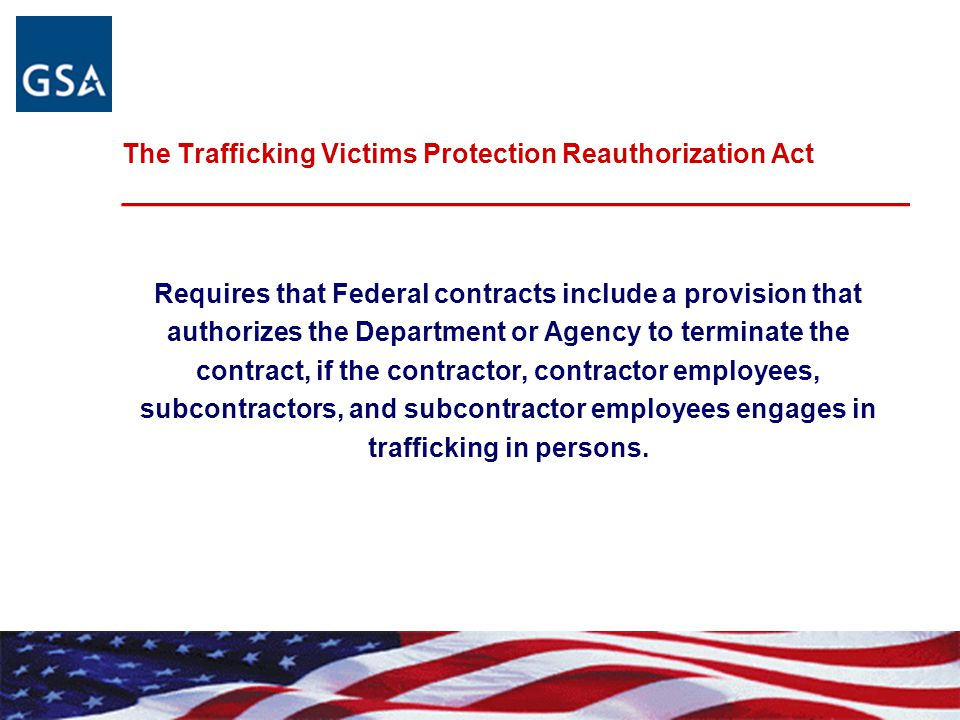 Requires that Federal contracts include a provision that