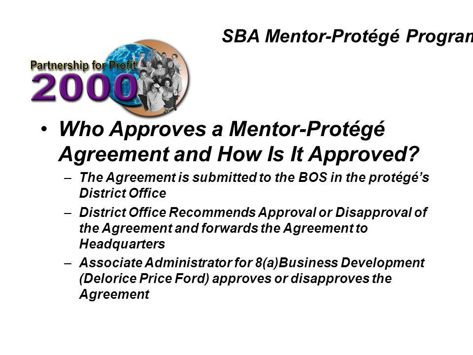 SBA Mentor-Protégé Program