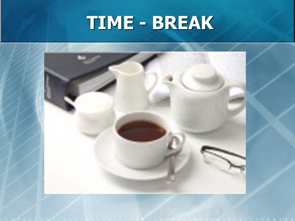 TIME - BREAK