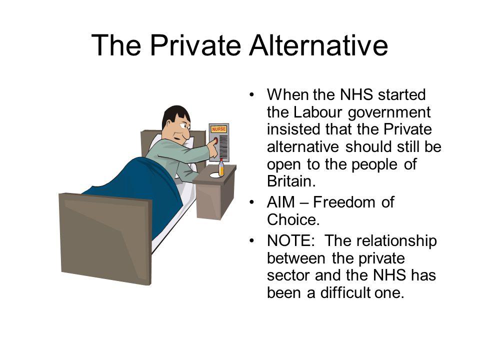 The Private Alternative