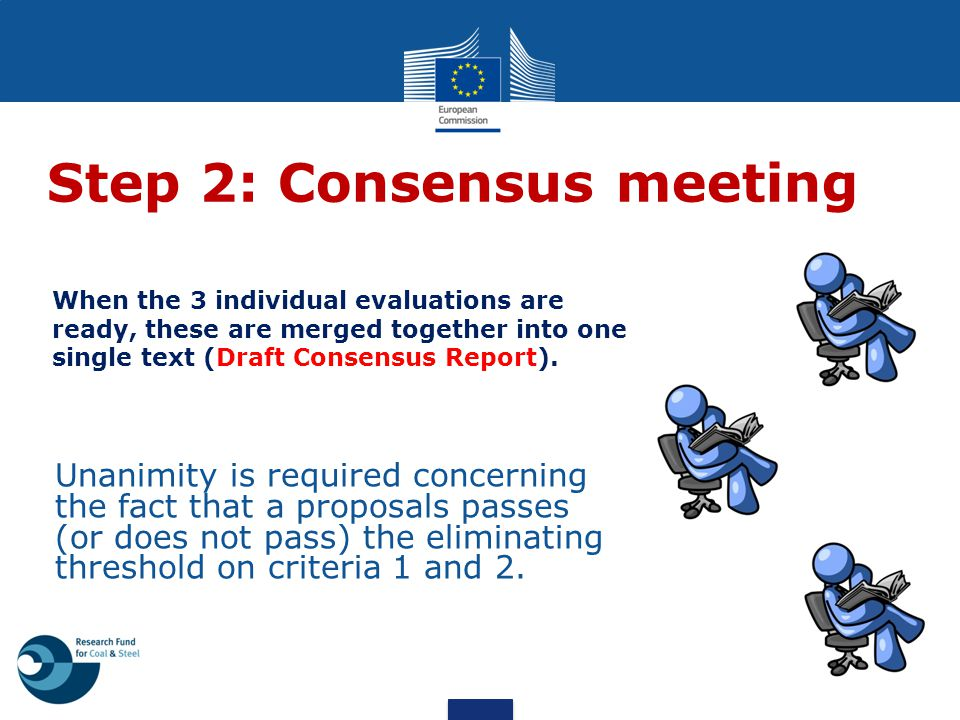 Step 2: Consensus meeting