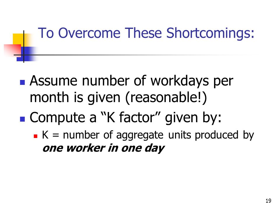 To Overcome These Shortcomings:
