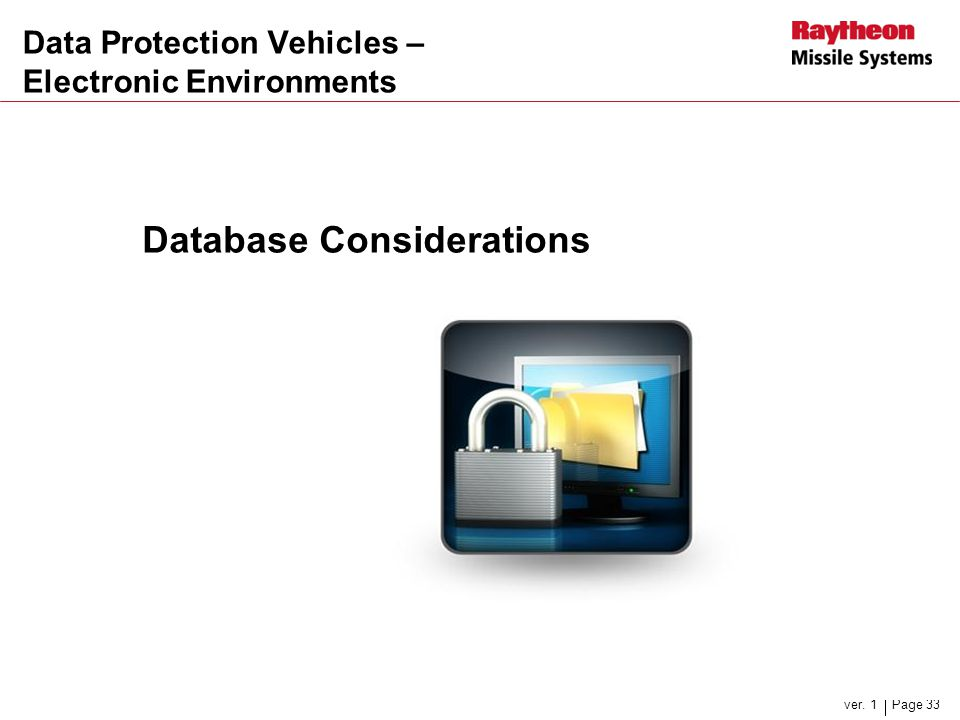 Data Protection Vehicles – Electronic Environments