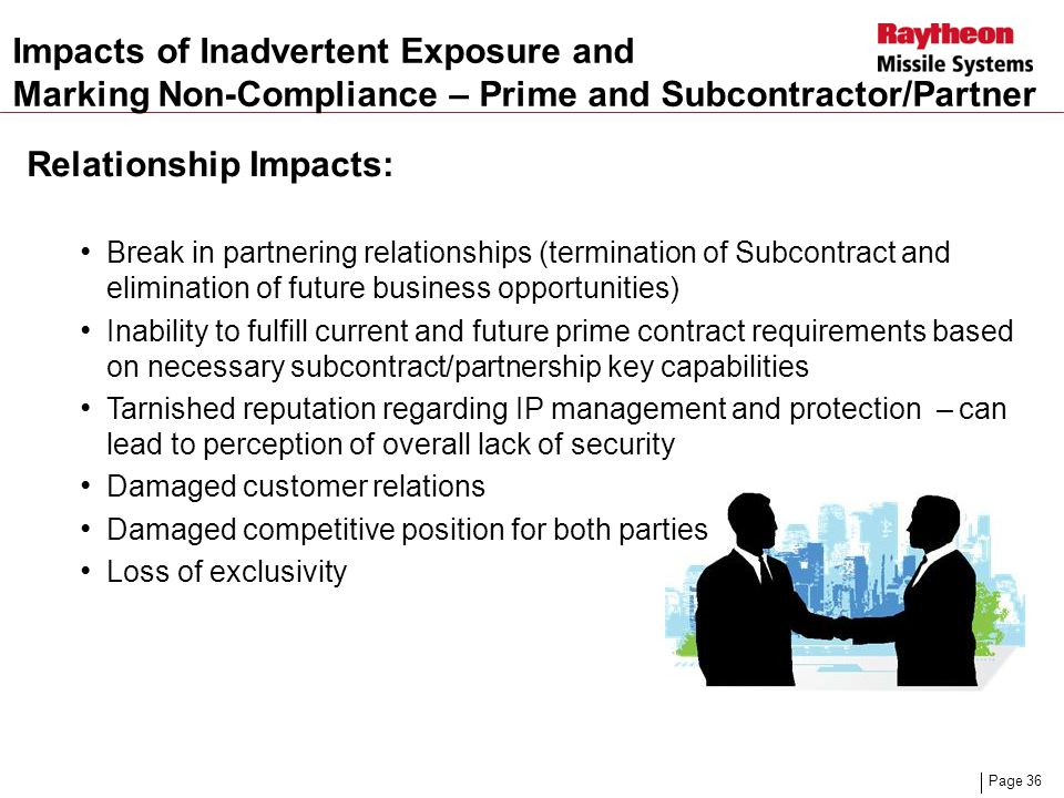 Impacts of Inadvertent Exposure and
