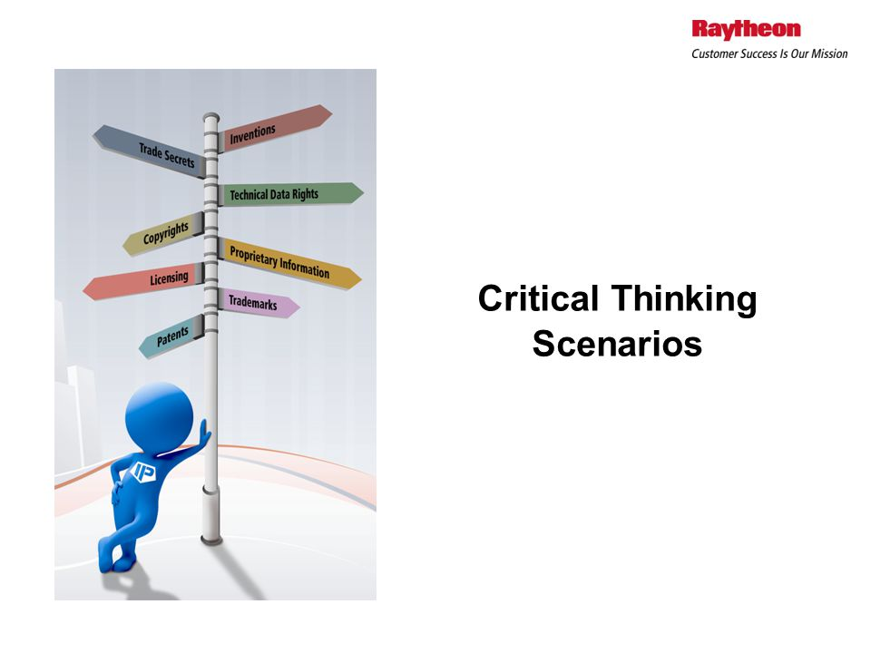 Critical Thinking Scenarios