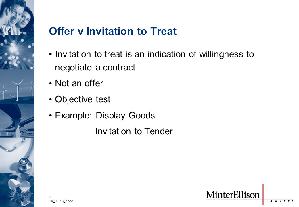 invitation to treat