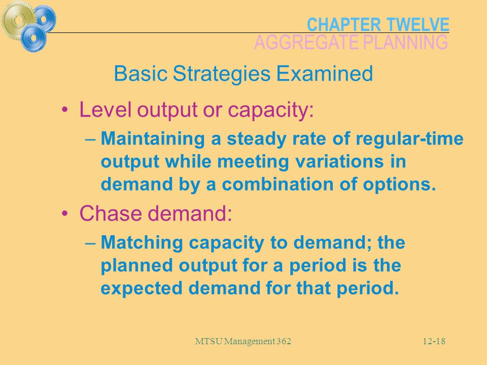 Basic Strategies Examined
