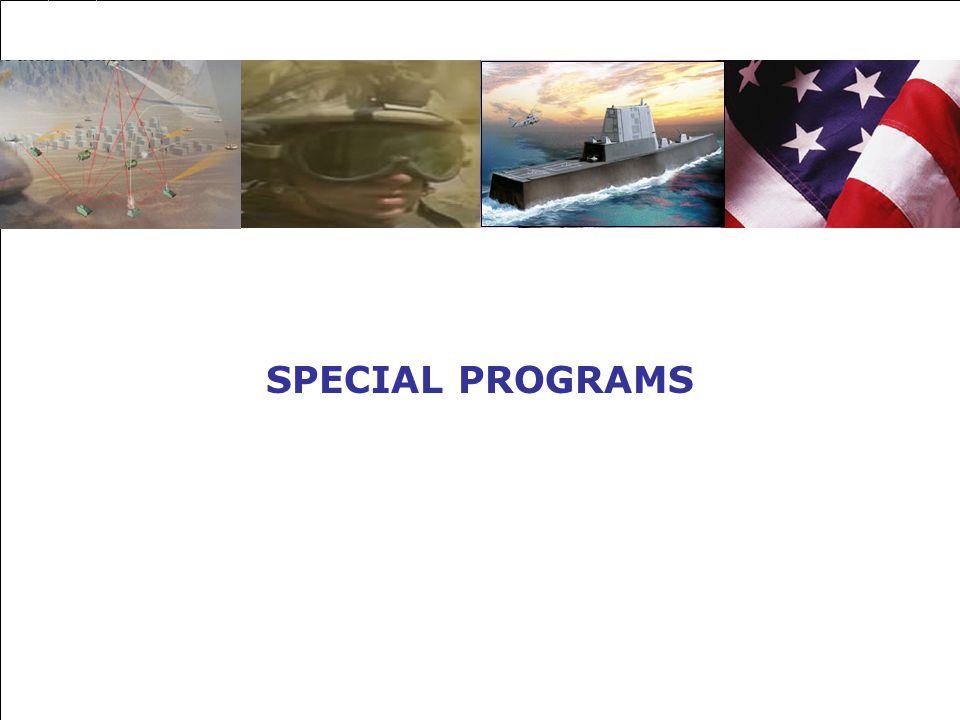 SPECIAL PROGRAMS 1
