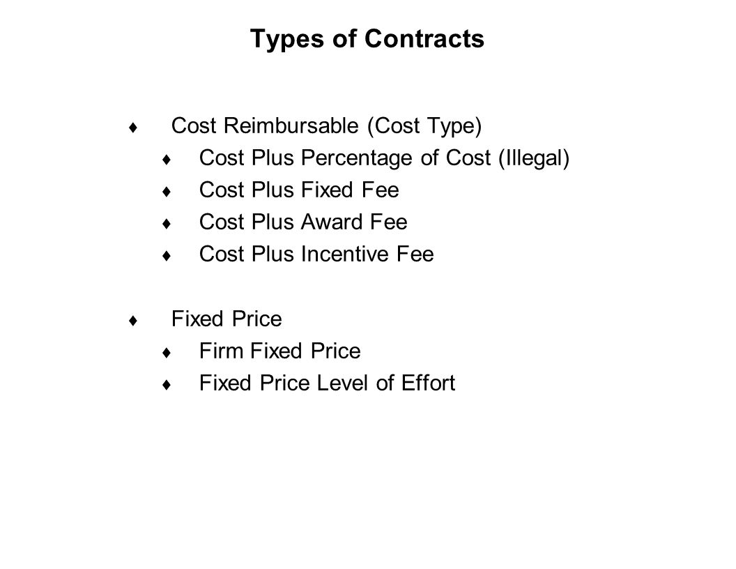 Pratt whitney rocketdyne supplier buyer training ppt for Cost plus contract example