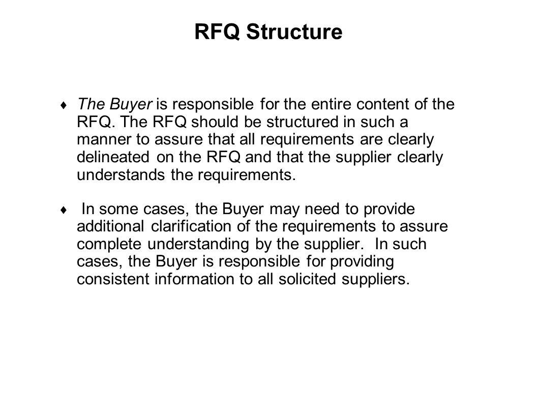 RFQ Structure