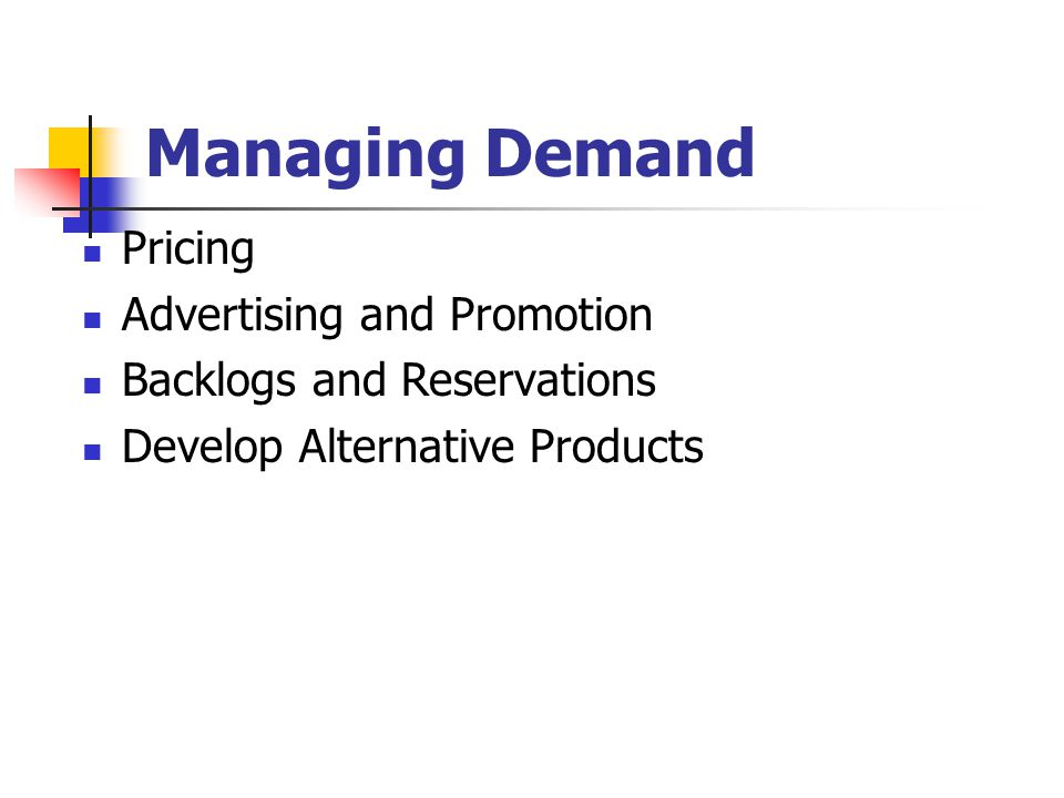 Managing Demand Pricing Advertising and Promotion